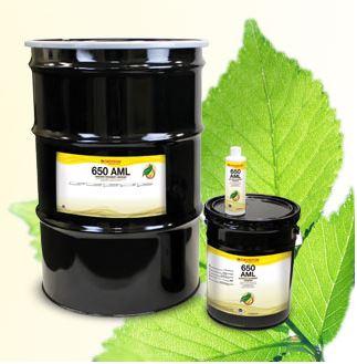 Biodégradable 650 AML prolonge la durée de vie de l'équipement en Réduisant considérablement l'usure.